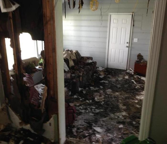 Fire Restoration- Redford, MI Before