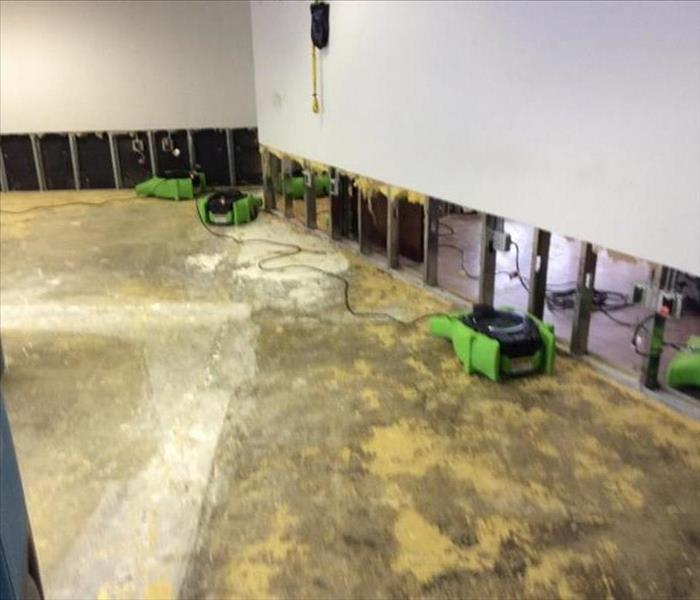 Commerical Water Damage- Livonia, MI Before