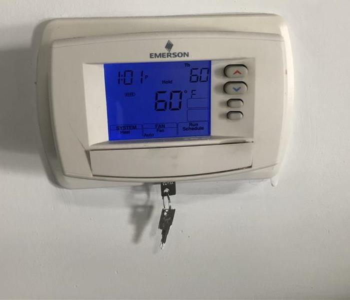Keep your thermostat set at 55°F or higher.