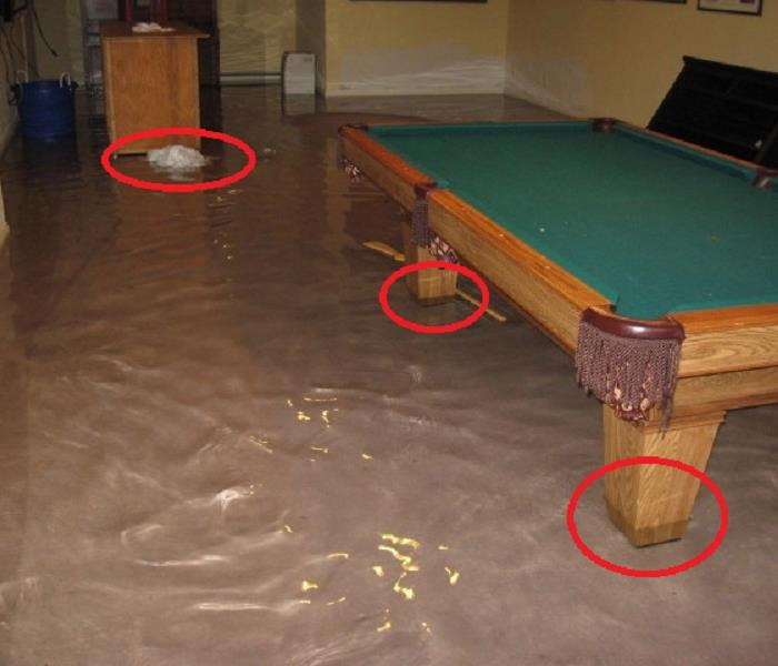 Water Damage Floods and Furniture